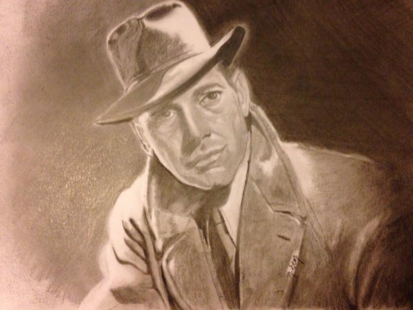 Humphrey Bogart por mzem